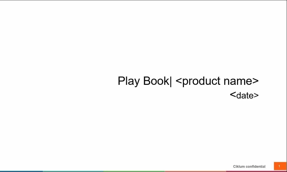 Go-to-market плейбук для продуктов — от Ольги Яцыны, Head of Global Digital Marketing в Ciklum